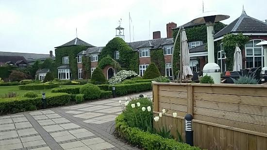 Beautiful hotel within a golf course