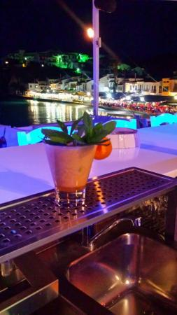 Kokkari, Grecia: Apricot Daquiri only here in our place ..!!