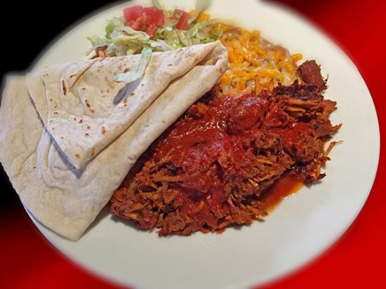 Corrales, Nuevo Mexico: Carne adovado