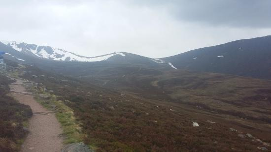 Aviemore, UK: Up the Cairngorm Mountains