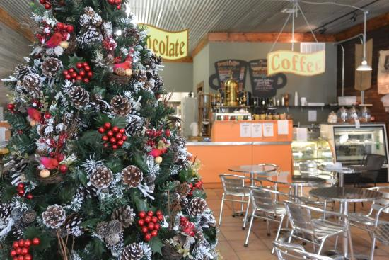Apalachicola Chocalate Company: The Christmas Tree in March