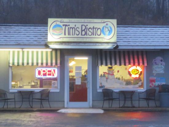 Tim's Bistro: A warm & friendly place to get a good meal.