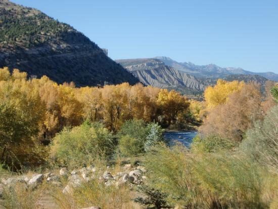 San Juan National Forest: Animas River in the fall