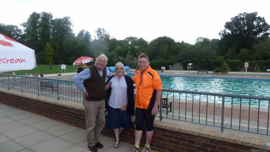 Letchworth Outdoor Pool Being Covered Picture Of Letchworth Outdoor Pool Opens 27th May