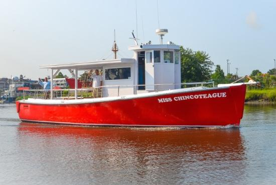 Miss Chincoteague Boat, ANJ Bay Adventure