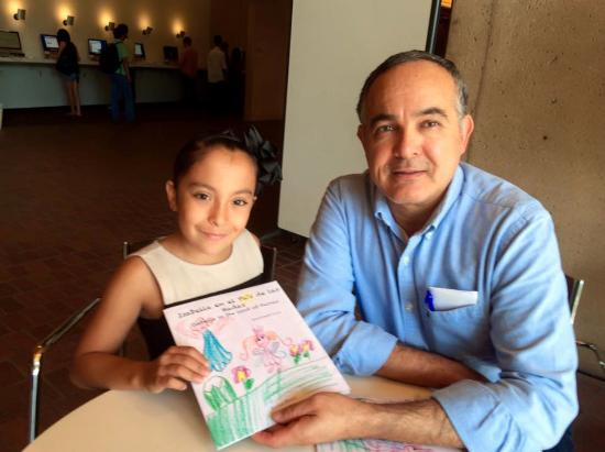 Palo Alto, CA: The Green Library. Isabella & Adan Griego, curator for latin american, mexican am