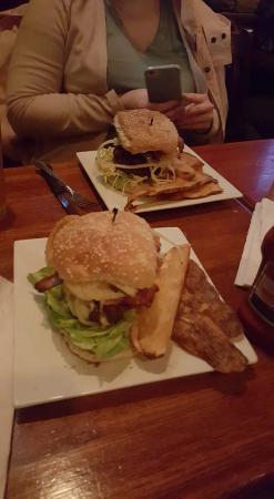 R.F. O'Sullivan & Son: A burger and fries