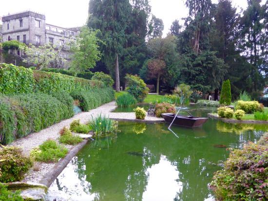 pazo torres de agrelo jardines