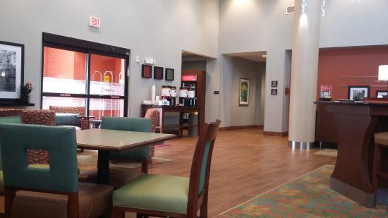 Lobby and entrance