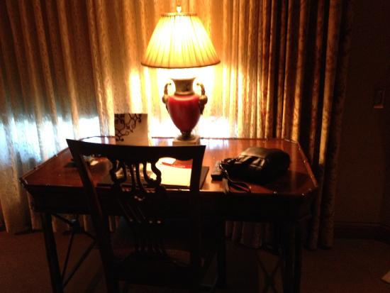 The Herrington Inn & Spa: desk