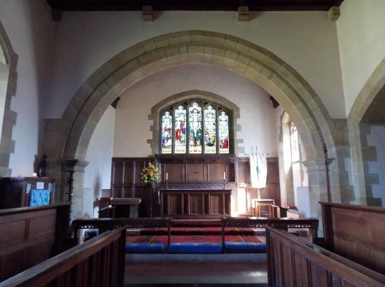 St. Mary's Church, Goathland: interior