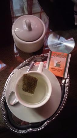 El Mariscal Cusco: Chá de coca