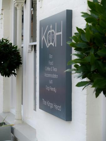 The Kings Head Restaurant: Facade