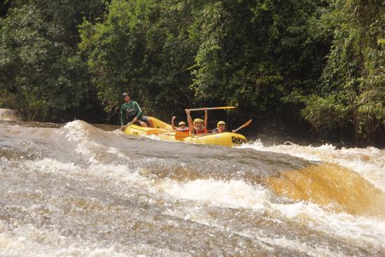 Rio Jacare-Pepira : Rafting no Rio Jacaré-Pepira em Brotas/SP