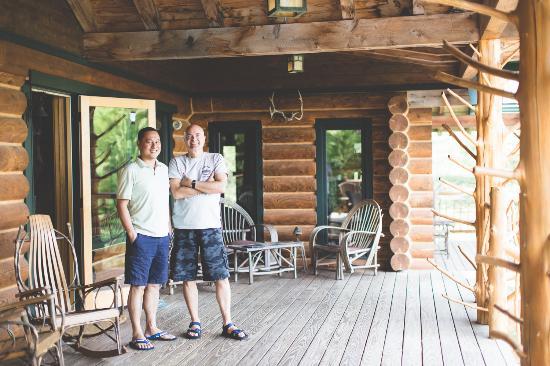 Moose Meadow Lodge : Great hosts!