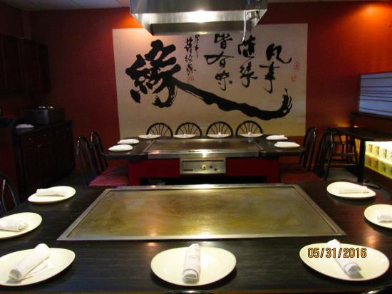 Hibachi Table Picture Of Kyoto Clarks Summit TripAdvisor - Hibachi table restaurant