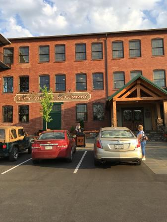 Rusty Rail Brewing Company... Formerly a buggy and carrage factory in Mifflinburg, PA