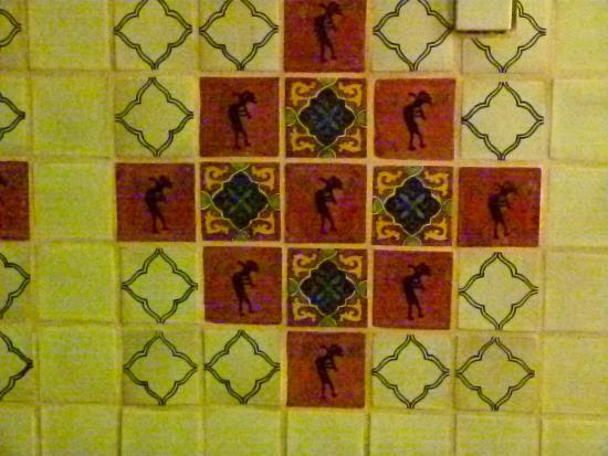 Corona Village: Even the tile walls are attractive.