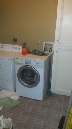 Kelseyville, Kalifornien: Laundry Room