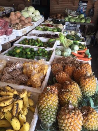 Crooked Tree, Belize: Market in Belmopan