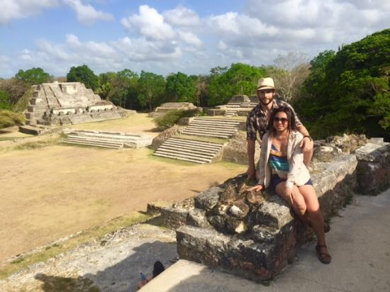 Crooked Tree, Belize: Altun Ha Ruins excursion provided by Robert