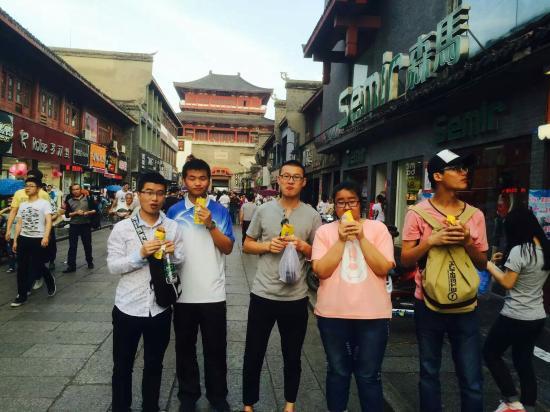 Xiangyang, Kina: 襄阳美食街