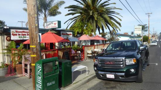 Shell Beach, Califórnia: Street view