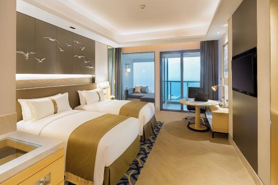 Haikou Xi'an Holiday Hotel: 假日海景双床