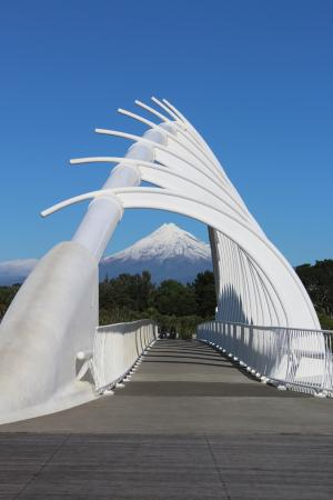 New Plymouth, Nueva Zelanda: View Mt Taranaki