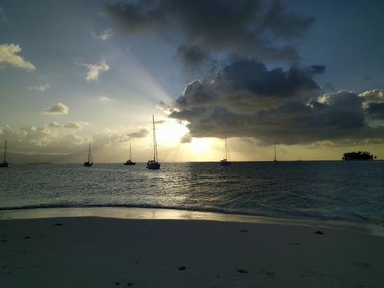 El Porvenir, Panama: Sunset in the San Blas Islands