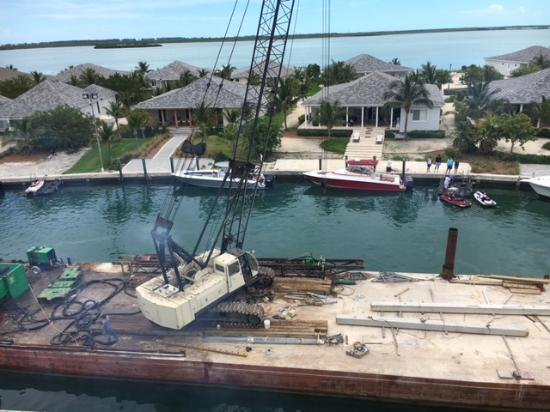 Bimini: Room with a view (and diesel odor)