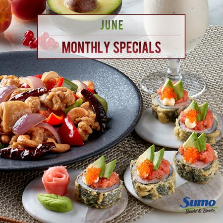 June Monthly Specials 2016