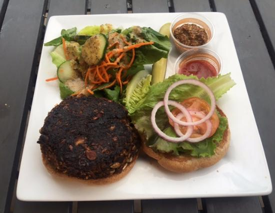 Under the Bodhi Tree: Veggie Burger
