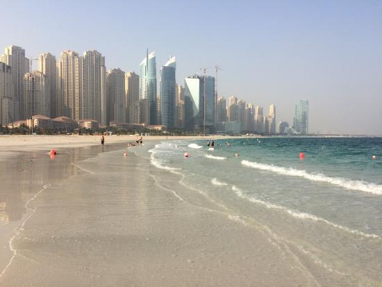 D Exhibition Jbr : Jbr the walk beach just outside hotel picture of ja