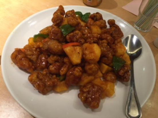 Sea King Garden Restaurant: Sweet and Sour pork