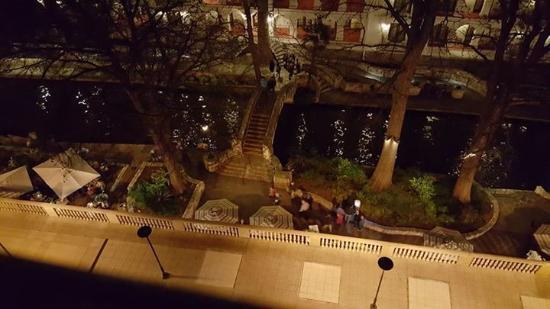 From Balcony Nice Night View Of Riverwalk Picture Of Mokara Hotel