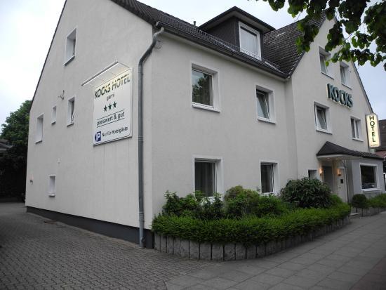 Kocks Hotel Garni : Kocks Hotel - günstig in Flughafennähe gelegen