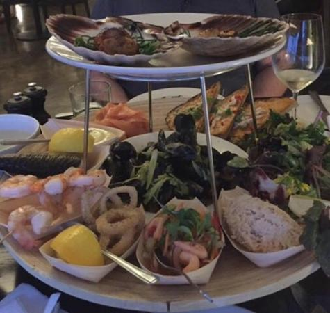 The Angel: This was a fantastic seafood platter