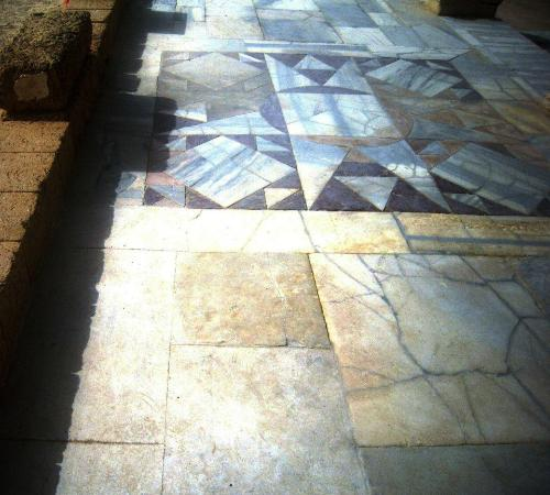 Beautiful Marble Floors beautiful marble floors - picture of caesarea national park