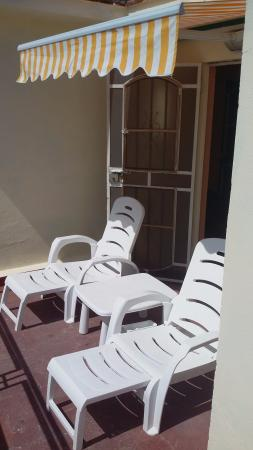 La Roomantic Colonial: Sun terrace