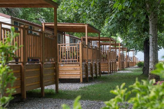 Campeggio Smeraldo: veduta case mobili