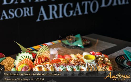Photo of Japanese Restaurant Amaterasu Pateo do Sushi at Praceta Professor Alfredo De Sousa, Alges 1495-241, Portugal