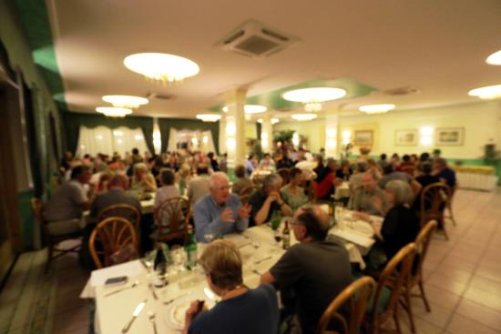 Hotel Orizzonte - Acireale: Some of the guest enjoying Dinner