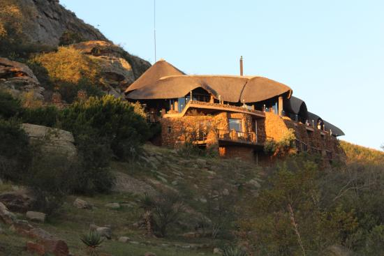 Isandlwana, Sudáfrica: The beautiful vantage point of the hotel