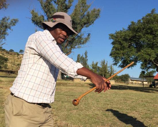 Isandlwana, Νότια Αφρική: Dalton, the master story teller