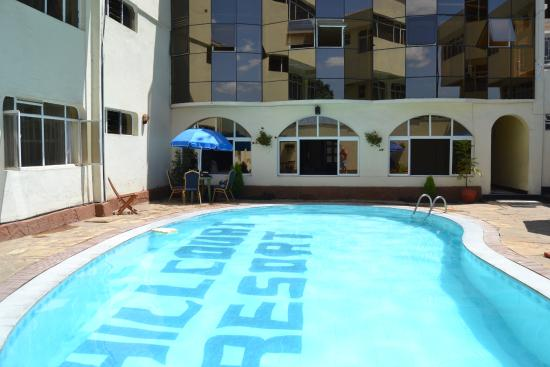 Pool Side Picture Of Hillcourt Resort Spa Nakuru Tripadvisor