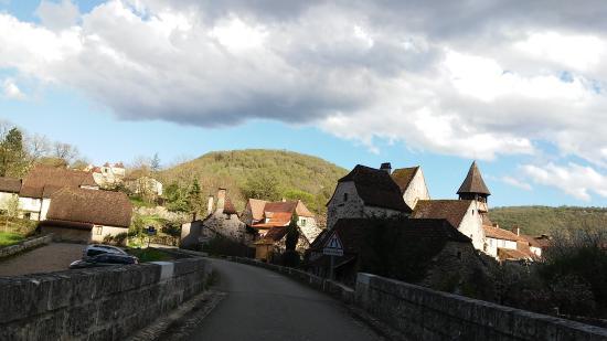 Espagnac-Sainte-Eulalie, فرنسا: Entrada na Vila de Espagnac