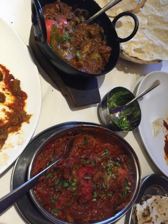 Tasty food - really enjoyed the curry!! Chicken Tikka and Lamb