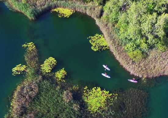 Ploce, كرواتيا: SUP tour in Natura 2000 protected areas