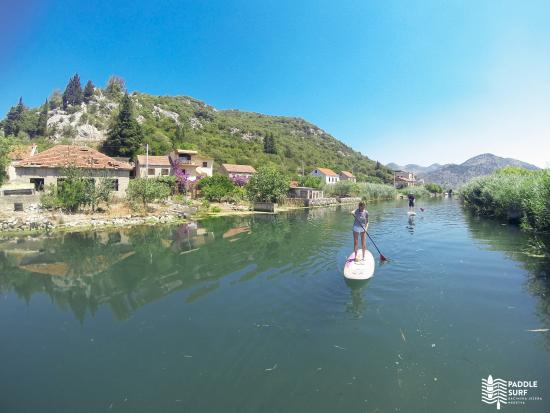 Ploce, كرواتيا: Neretva river standup paddle tour